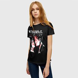 Футболка женская My Chemical Romance цвета 3D — фото 2