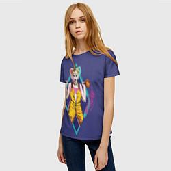 Футболка женская Harley Quinn цвета 3D-принт — фото 2