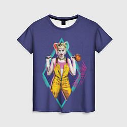Футболка женская Harley Quinn цвета 3D — фото 1