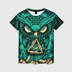 Женская футболка Тотемная сова