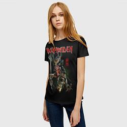 Футболка женская Iron Maiden, Senjutsu цвета 3D-принт — фото 2