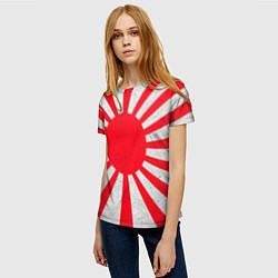 Футболка женская Япония цвета 3D — фото 2