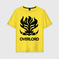 Женская футболка оверсайз Orc Mage - Overlord