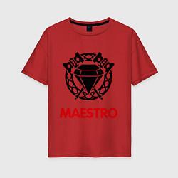 Женская футболка оверсайз Dwarf Fighter - Maestro