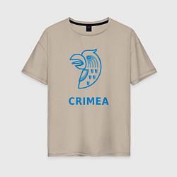 Женская футболка оверсайз Crimea