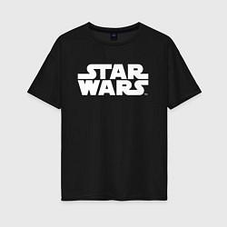 Футболка оверсайз женская Star Wars цвета черный — фото 1