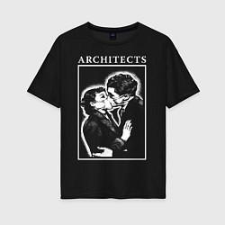 Футболка оверсайз женская Architects: Love цвета черный — фото 1