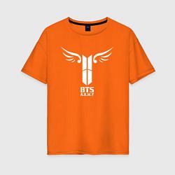 Женская футболка оверсайз BTS ARMY
