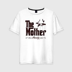 Футболка оверсайз женская The Mother цвета белый — фото 1