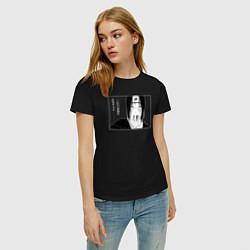 Женская хлопковая футболка с принтом Itachi Naruto Итачи Учиха, цвет: черный, артикул: 10257452100002 — фото 2